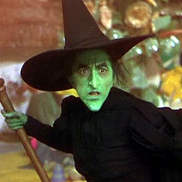 Image result for wizard of oz green witch