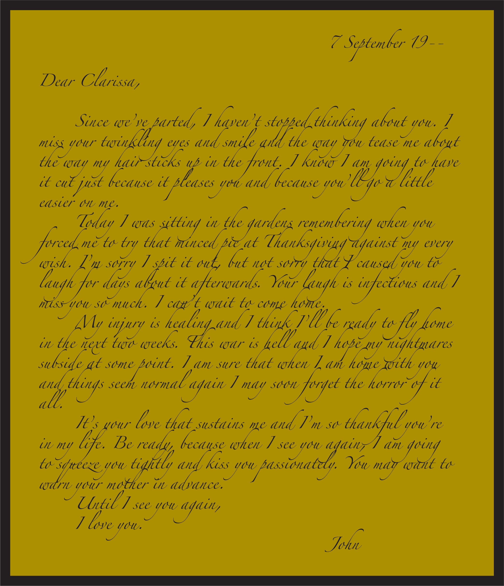 letter of instructions template
