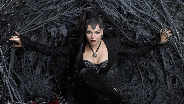 "Lana Parrilla as the Evil Queen in ""Once Upon A Time."""