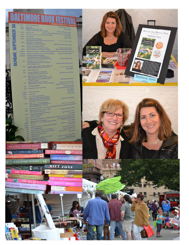 From the last visit to the Baltimore Book Festival in 2012. It's been a while, and I'm looking forward to being back!