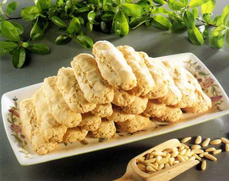 Biscotti A Pinoli