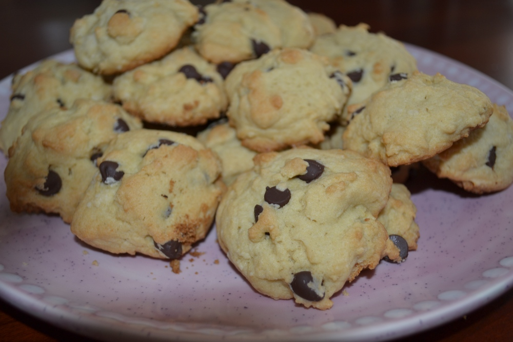 Ricotta Chocolate Chip Cookies