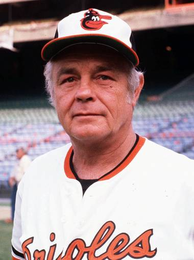 Earl Weaver. Photo credit: Orioles