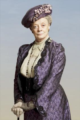 Maggie Smith/Downton Abbey. Photo credit: PBS.org