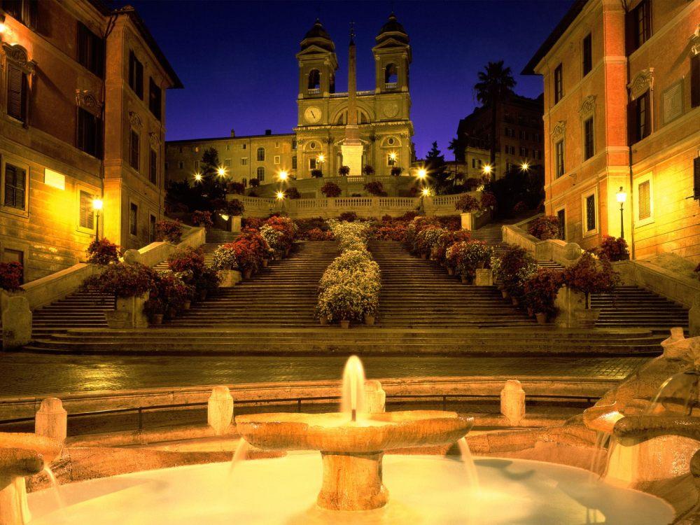 #2 - Spanish Steps, Italy