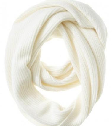 White Cashmere Winter Scarf
