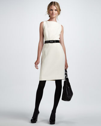 Winter White Dress - Steph&-39-s Scribe