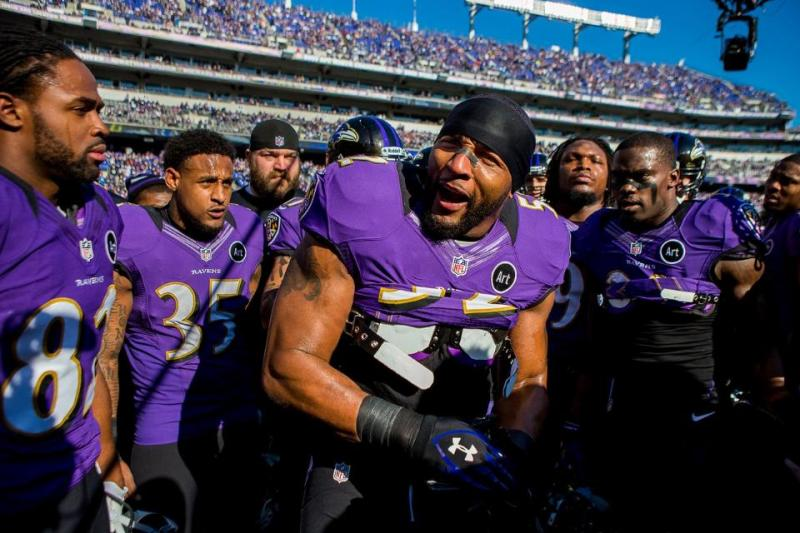 Baltimore Ravens. Photo credit: Baltimore Ravens