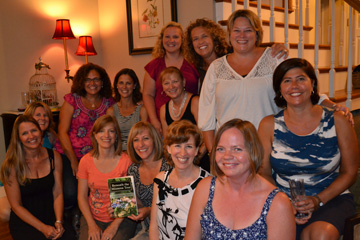 "One of many book clubs that have chosen ""Beneath the Mimosa Tree"" as their book club book."