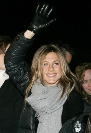 Even Jennifer Aniston, now in her forties, knows hands don't lie.