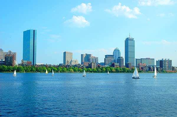 The Beautiful City of Boston. Photo credit: historictours.com