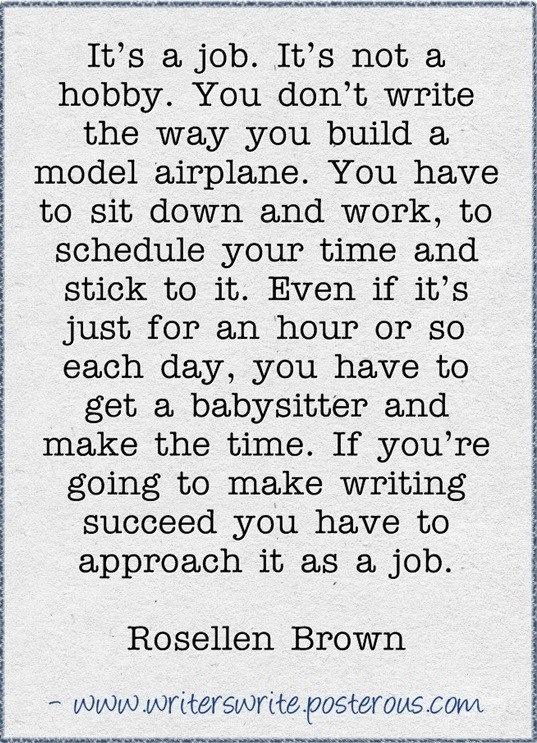 Writing as a Job