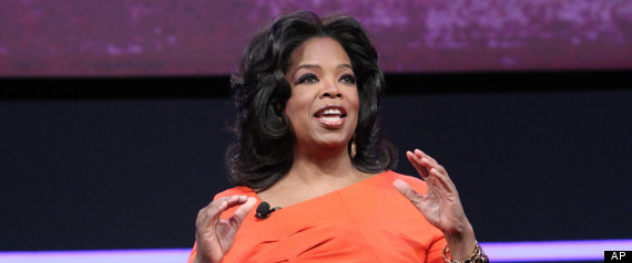 Oprah Winfrey. Photo credit: Huffington Post.