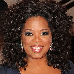 Oprah: Photo credit, Yahoo.