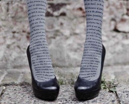 #4: Literary Tights