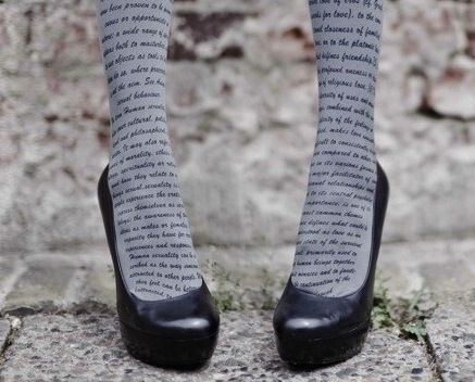 #4: Literary Tights