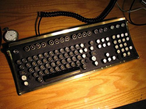 #6: Typewriter Keyboard. AWESOME!!!!