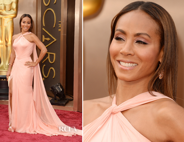 Jada Pinkett-Smith, age 42, at the Oscars last night. 2014. Photo credit: redcarpet-fashionawards.com