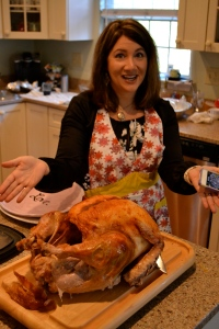 """I think what I was saying, as I cooked my first Thanksgiving turkey a few years ago was, """"All this work and it'll be over in minutes."""" And also, there's little appreciation for it 365 days a year."""
