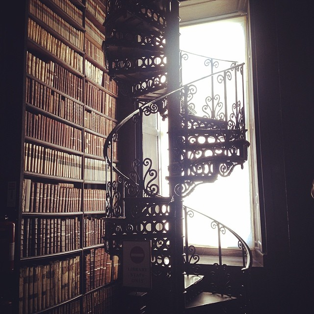 Trinity Library, Ireland. Photo credit: Courtney Hastings