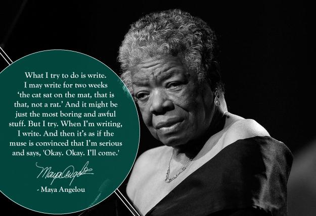 Maya Angelou. 4/4/28 - 5/28/14.