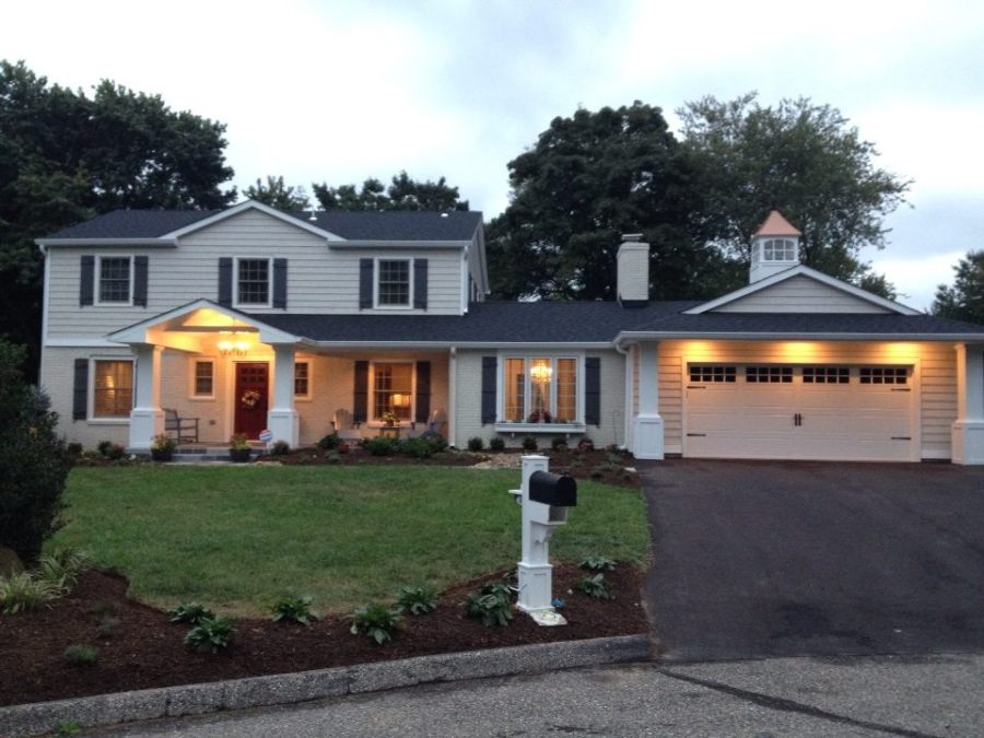 Our home AFTER the renovation.