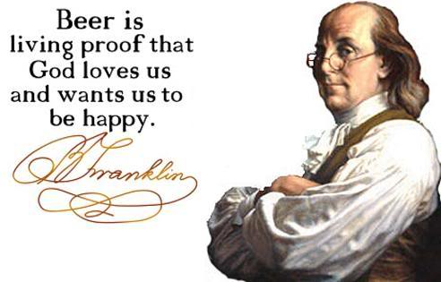 BenFranklinBeer quote