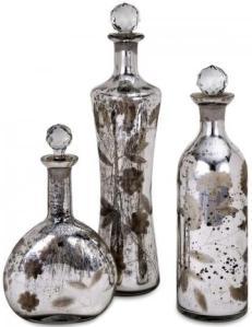 Madison Etched Mer Bottles homedecorators