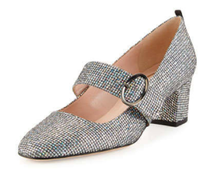 Tartt Sparkly Mary Jane Pumps by SJP, $385, Neiman Marcus
