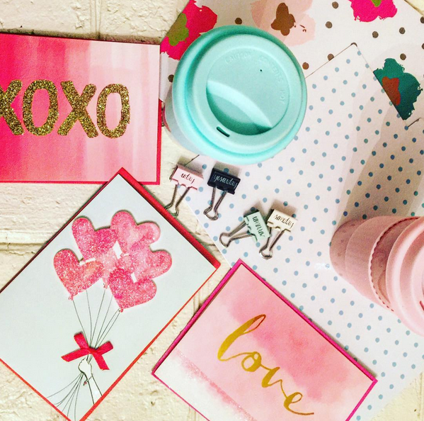 Pretty Things, Poetry, and Handmade Valentines