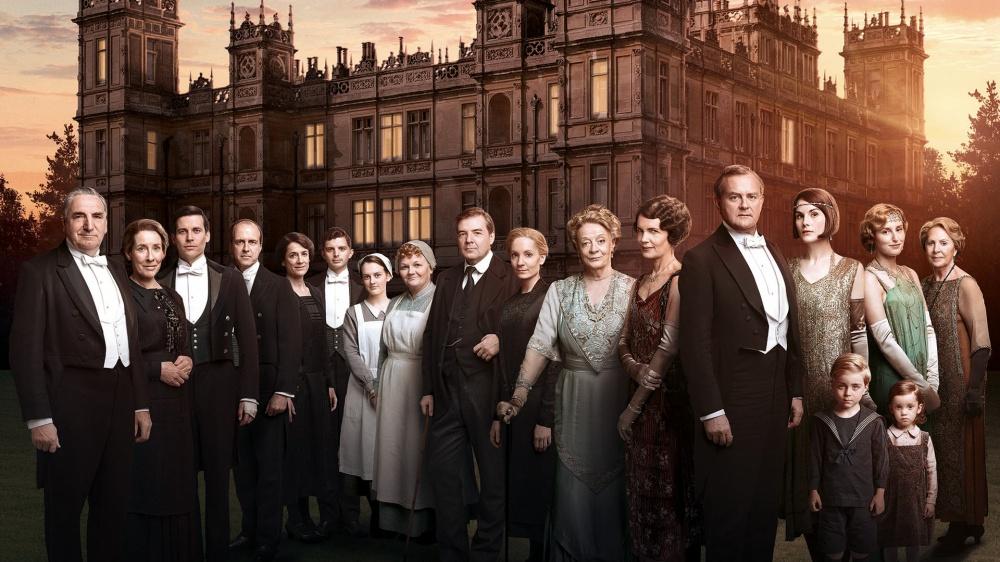 The Season 6 cast of Downton Abbey.