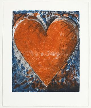 Heart Art | Keith Haring