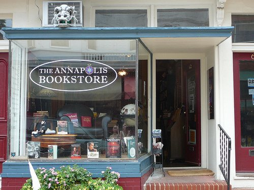 The Annapolis Book Store on Maryland Avenue