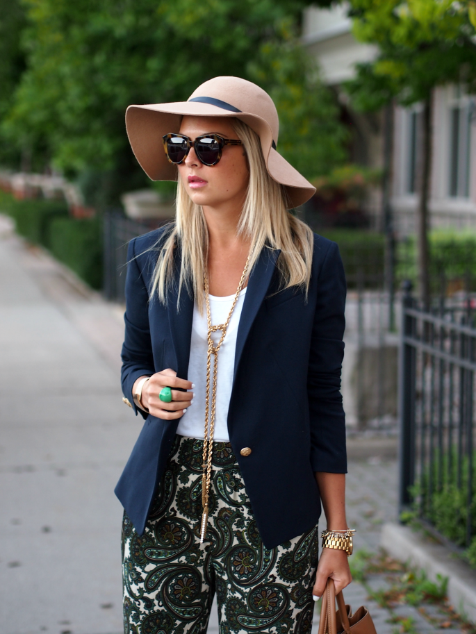 Another picture of Suburban Faux Pas in a hat. Photo credit: Instagram   Suburban Faux-Pas