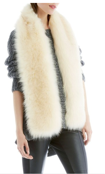 Sole Society Faux Fur Stole from Nordstrom, $59.95.