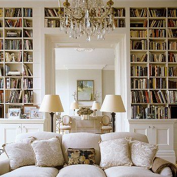There is no doubt in my head that Inn Significant's library would look like this. OMG. Gorgeous.