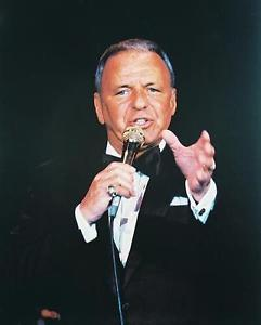 Frank Sinatra the crooner and swinger.