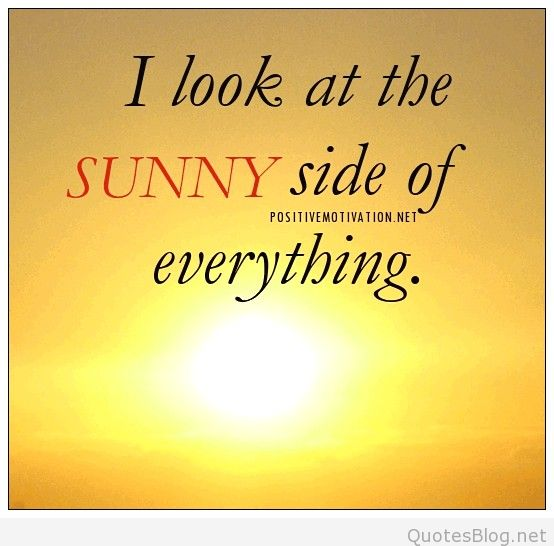 Daily-Affirmation-for-positive-attitude-I-look-at-the-sunny-side-of-everything