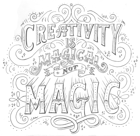 Image result for creativity black and white